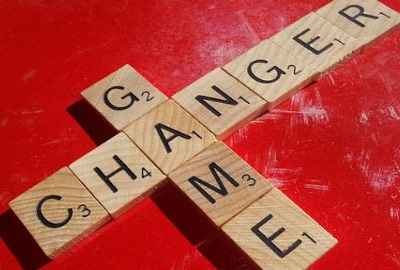 Image of Scrabble™ tiles spelling out 'Game Changer', referring to the need to control rogue projects.
